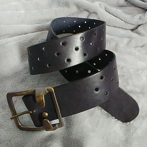 Vintage Women's Leather Belt